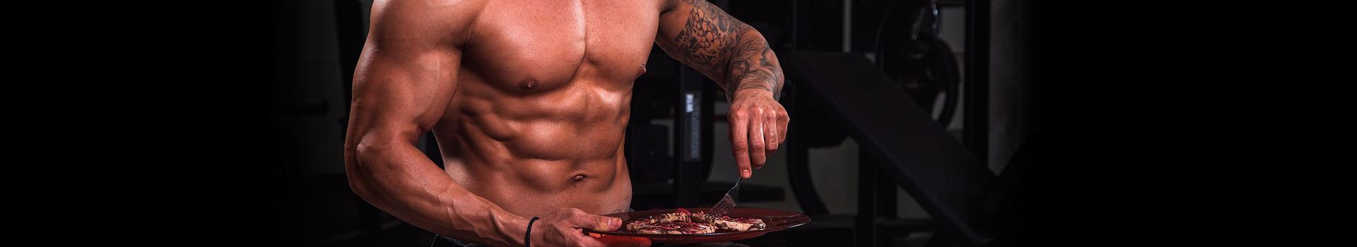 Deportista haciendo Dieta