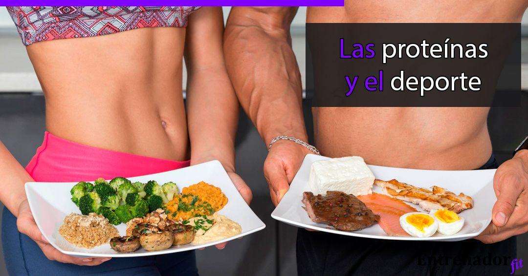 Las proteínas en el deporte