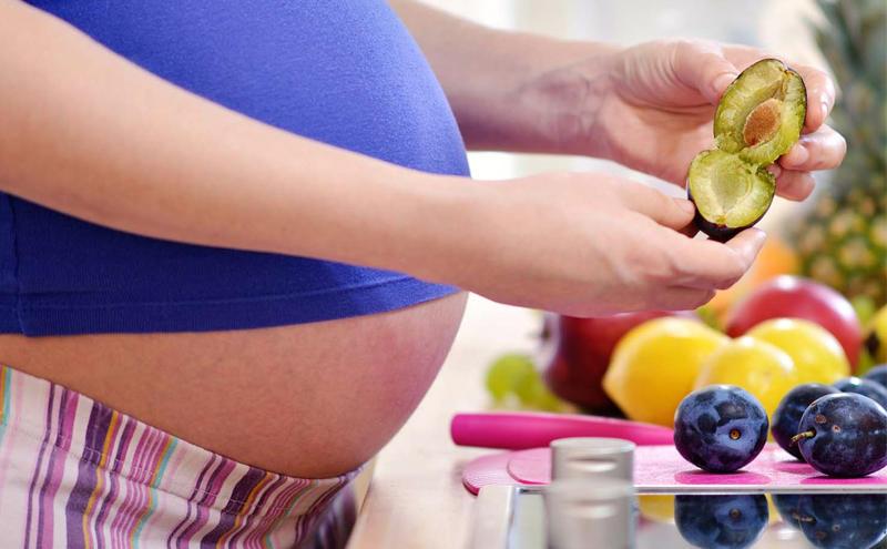 alimentación para embarazadas