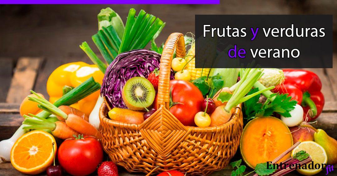 Frutas y Verduras de Verano