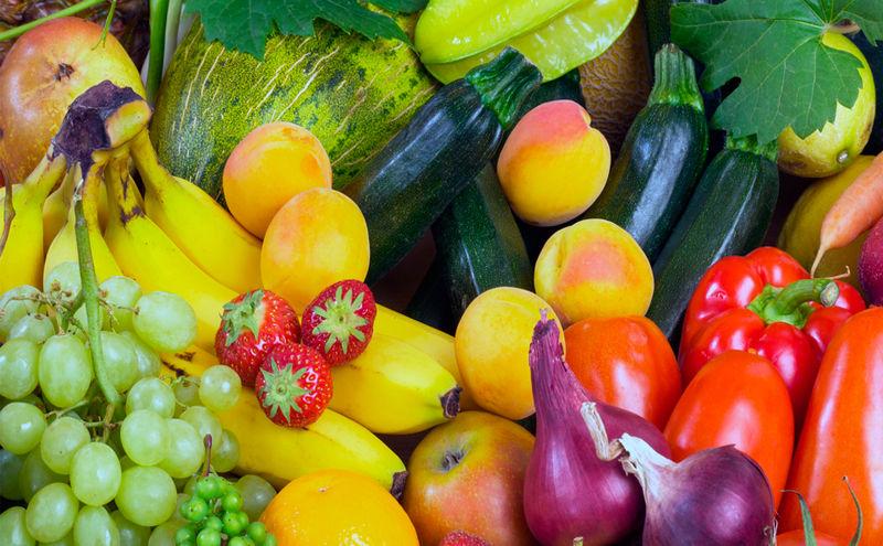 frutas y verduras dieta alcalina