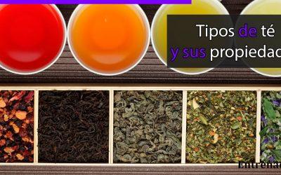 Tipos y Propiedades del Té (Camellia sinensis)